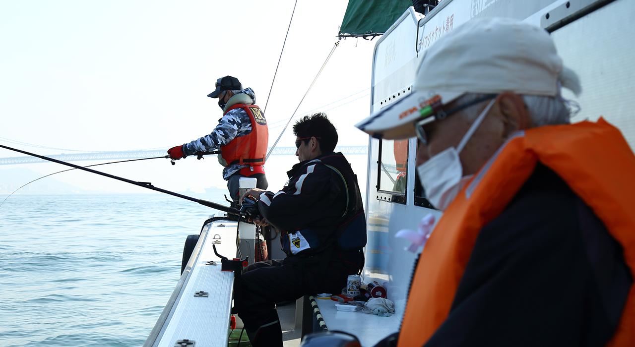 斎藤丸釣り風景